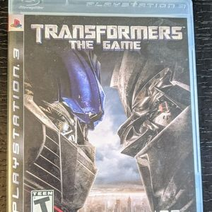 Transformers PlayStation 3 Game